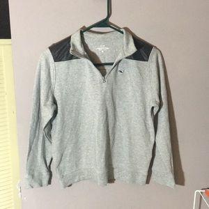 Vineyard Vines Gray Sweater Medium